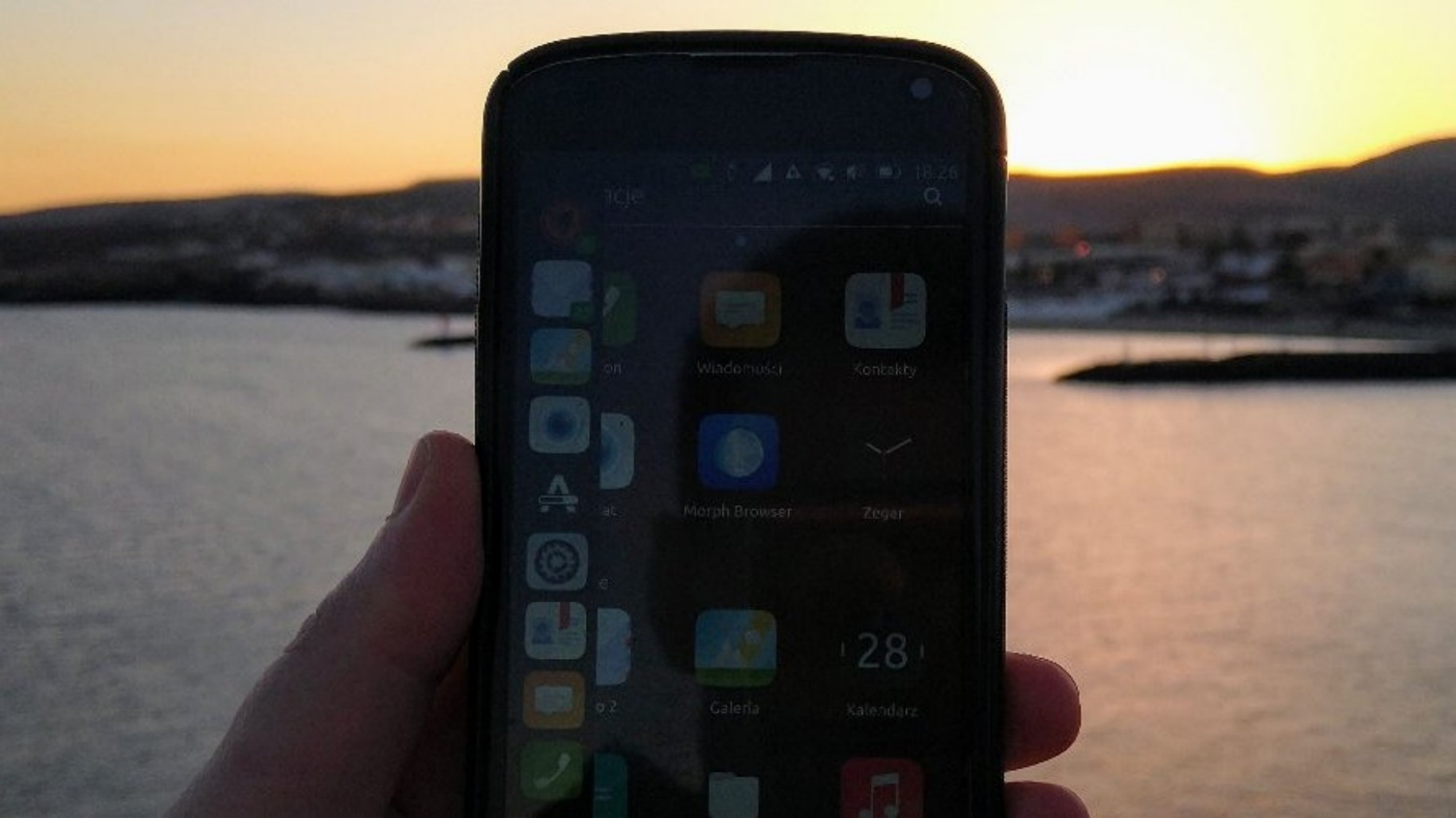 Nexus 4 with Ubuntu Touch