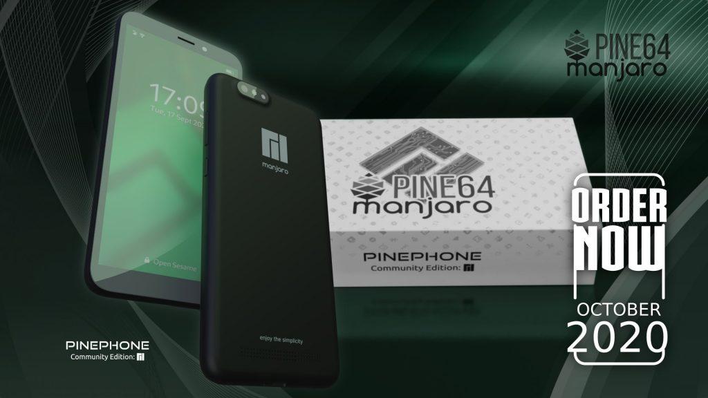 Manjaro ARM with Phosh (PinePhone)