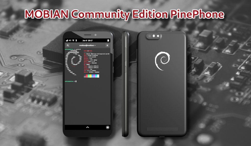 Mobian Community Edition PinePhone