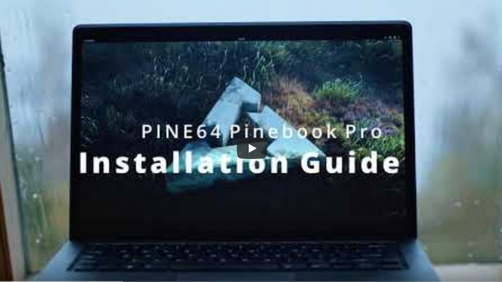 Pinebook Pro with postmarketOS Gnome