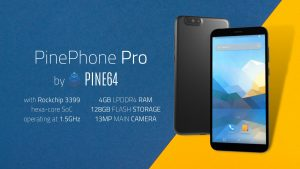 PinePhonePro with Rockchip RK3399 is coming